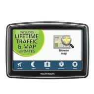 TomTom XL 350TM 4.3-inch Portable GPS Navigator Lifetime Traffic And - EE697865