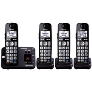 Panasonic 4 Handset Link To Cell Cordless Phone W/ Text Message Alert - EE697869
