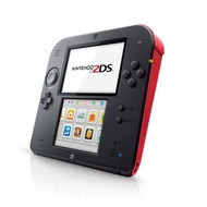 Nintendo 2DS Crimson Red Portable System - EE697934