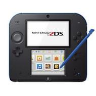 Nintendo 2DS Electric Blue Multi-Color Handheld - EE697935