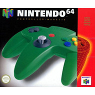 Controller-Green For N64 Nintendo - EE697948