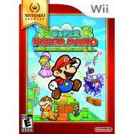 Super Paper Mario Nintendo Selects For Wii With Manual and Case - EE698117