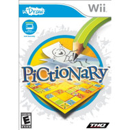 Pictionary uDraw For Wii Strategy With Manual and Case - EE698132