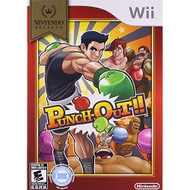 Punch-Out! Nintendo Selects For Wii Boxing With Manual and Case - EE698149