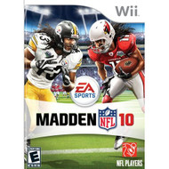 Madden NFL 10 For Wii Football With Manual and Case - EE698144