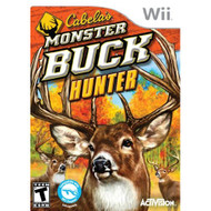 Cabela's Monster Buck Hunter Software Only For Wii Shooter With Manual - EE698147