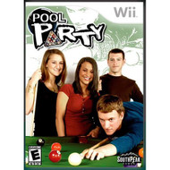 Pool Party For Wii Arcade With Manual and Case - EE698155