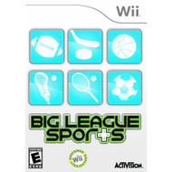 Big League Sports For Wii Baseball With Manual And Case - EE698156
