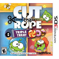 Cut The Rope: Triple Treat Nintendo For 3DS Puzzle - EE698218