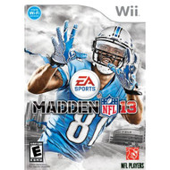 Madden NFL 13 For Wii Football - EE698230