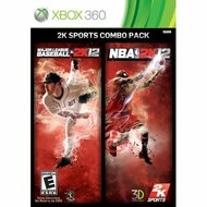 MLB 2K12/NBA 2K12 Combo Pack For Xbox 360 Basketball Baseball - EE698337