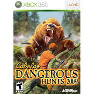 Cabela's Dangerous Hunts '09 For Xbox 360 Shooter - EE698350