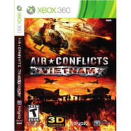 Air Conflicts: Vietnam Xbox 360 For Xbox Original Shooter With Manual - EE698356
