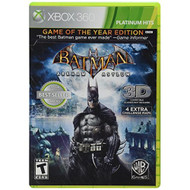 Batman: Arkham Asylum Game Of The Year Edition Platinum Hits For Xbox  - EE698371