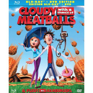 Cloudy With A Chance Of Meatballs Blu-Ray DVD Digital Copy Blu-Ray On - EE698493