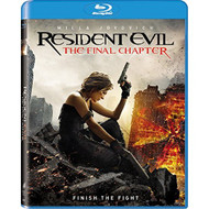 Resident Evil: The Final Chapter Blu-Ray On Blu-Ray With Milla - EE698494