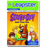 Leapfrog Leapster Learning Game: Scooby Doo Math Times Two For Leap - EE698553