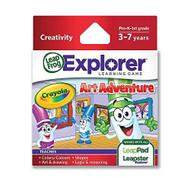 Leapfrog Enterprises Explorer Learning Game Crayola Art Adventure For - EE698556