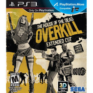 House Of The Dead Overkill Extended Cut For PlayStation 3 PS3 Shooter - EE698644