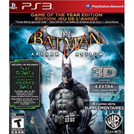 Batman: Arkham Asylum Game Of The Year Edition For PlayStation 3 PS3 - EE698688