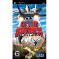 After Burner: Black Falcon Sony For PSP UMD With Manual and Case - EE698846