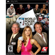 World Poker Tour Sony For PSP UMD With Manual and Case - EE698854