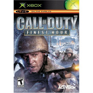 Call Of Duty Finest Hour For Xbox Original COD With Manual and Case - EE698908