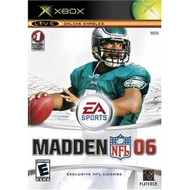 Madden NFL 06 Xbox For Xbox Original Football With Manual and Case - EE698918