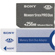 Sony 256 MB Memory Stick Pro Duo Flash Memory Card MSXM-256S - EE699003
