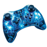 PDP Afterglow Pro Wireless Controller For For Wii U Blue 8622EU - EE699078