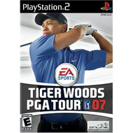 Tiger Woods PGA Tour 07 For PlayStation 2 PS2 Golf With Manual And - EE699251