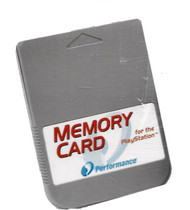 Performance Memory Card 15 Block For PlayStation 1 / 1 MB PS1 - EE699371