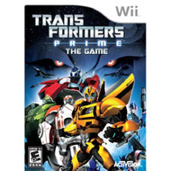 Transformers Prime: The Game For Wii With Manual and Case - EE699558