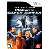 Fantastic Four: Rise Of The Silver Surfer For Wii With Manual and Case - EE699574