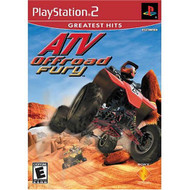 ATV Offroad Fury PS2 For PlayStation 2 Flight With Manual and Case - EE699629