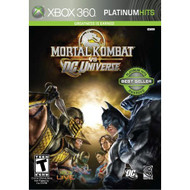 Mortal Kombat Vs DC Universe For Xbox 360 Fighting - EE699625