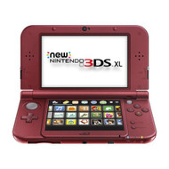 Nintendo New 3DS XL Red Handheld - ZZ699642