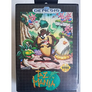 Tazmania For Sega Genesis Vintage With Manual and Case - EE699659