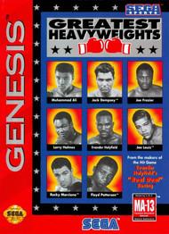 Greatest Heavyweights For Sega Genesis Vintage Boxing - EE699662