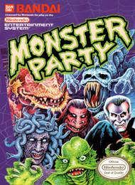Monster Party Nintendo NES For Nintendo NES Vintage - EE699754
