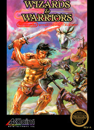 Wizards And Warriors NES For Nintendo NES Vintage - EE699766