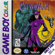 Catwoman On Gameboy Color - EE699876