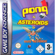 Pong/asteroids/yars Revenge GBA By Zoo Digital For GBA Gameboy Advance - EE699958