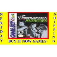 WWF Wrestlemania 2000 On Gameboy Color Wrestling - EE700230
