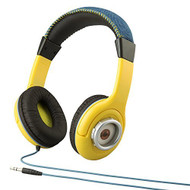 Despicable Me Minions Kid Friendly Headphones With BUILT In Volume - EE700242