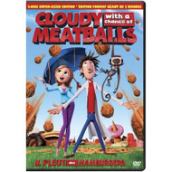 Cloudy With A Chance Of Meatballs Aws On DVD - EE700421