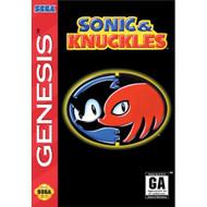 Sonic And Knuckles For Sega Genesis Vintage - EE700474