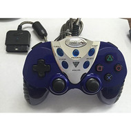 Intec Blue Turbo Shock 2 Controller For PlayStation 2/ PS2 ZYD981 - EE700703