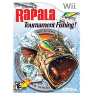 Rapala Tournament Fishing For Wii With Manual and Case - EE700773