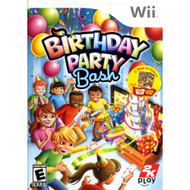 Birthday Party Bash Party For Wii With Manual and Case - EE700785